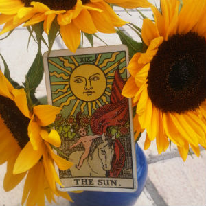 front page - tarot card readings